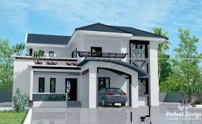 modern mixed roof home design u2013 kerala home design