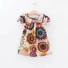 Vintage Style Baby Clothes Compare Prices On Sunflower Pattern Dress Online Shopping Buy Low