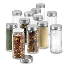 Spice Rack Empty Jars Extra Spice Jar Replacements Set Of 12 Williams Sonoma