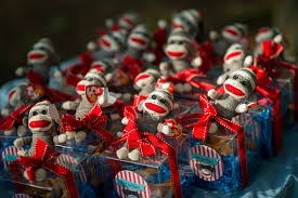 Sock Monkey Favors by Sock Monkey Mylifeasagrownup