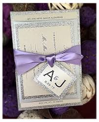 Purple And Silver Wedding Invitations Wedding Invitation Lilac Wedding Invitation Lilac Purple And