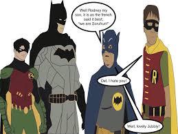 fools horses batman robin sentry1996 deviantart