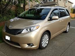 toyota minivan 2012 toyota sienna xle awd u2013 halo motorsports