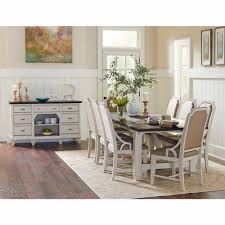 mystic cay 10 piece dining set with sideboard d00042