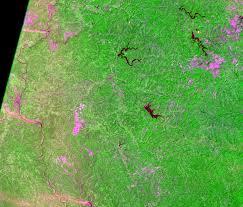 Ohio Usa Map by Muskingum Mines Ohio Usa Earthshots Satellite Images Of