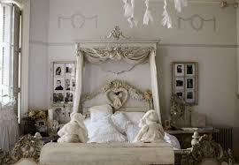 white color decoration ideas bedroom drapes shabby chic bedroom