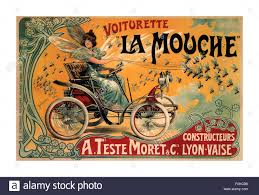 la mouche voiturette 1900 art deco style the french car company a