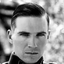 german officer haircut ralph fiennes as amon goeth haircuts undercut fade and hair style