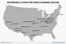 cheapest us states to live in us cities where you can live comfortably on less than 50 000 a year