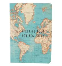 Uk World Map by Pocket Size Notebook Notepad World Map A Little Book Big Ideas