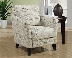 Fabric Accent Chair Amazon Com Monarch Specialties Vintage French Fabric Accent Chair