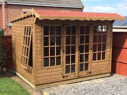 Summer Garden Houses - build wooden cabins in coalville with world of sheds