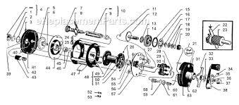 abu garcia ambassadeur 3500c abu garcia 2500 c parts list and diagram 78 11 01