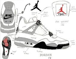 drawn shoe jordan retro pencil and in color drawn shoe jordan retro