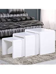 How To Make End Tables Furniture nesting tables amazon com