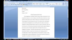 how to write a film paper citing a film or documentary youtube