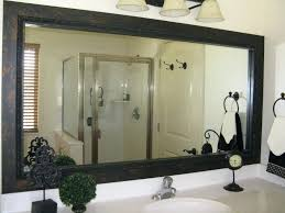 Frames For Bathroom Mirrors Lowes Bathroom Mirror Frame Custom Mirror Frames By Bathroom Mirror