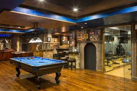 Rustic Basement Ideas Rustic Basement Ideas With Pool Table Contemporary Game