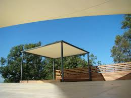 Outdoor Fabric For Pergola Roof by Self Supporting Pergola Aluminum Fabric Canopy Grand Voile