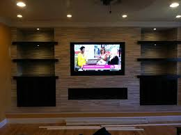 norstone with mounted tv above cheap on wall tv stacked stone