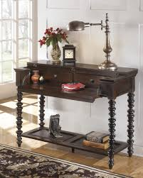 Sofa Table Dimensions T668 4 Signature By Ashley Key Town Sofa Table Dark Brown Finish
