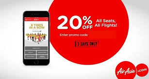 airasia singapore promo airasia 3 day exclusive mobile app promo get 20 off with coupon