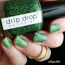 let u0027s begin nails drip drop nail paint st patrick u0027s day duo