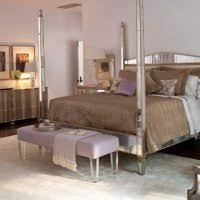 Mirrored Canopy Bed Bedroom Ideas White Polished Wood Mirrored Bedroom Furniture