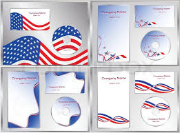 vector illustration template elements cd cover design with copy