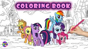 my little pony coloring book friendship is magic mlp coloring