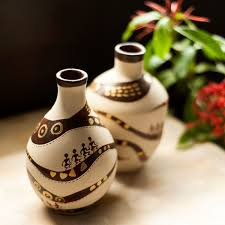 Clay Vase Painting Terracotta Art To Beautify Your Home U2013 Ishippo Blog
