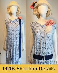 accessorizing a plain 1920s dress