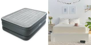 grab an intex queen sized self inflating bed for 35 or brentwood