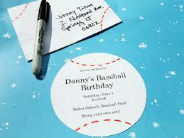 free printable baseball birthday party invitations gallery