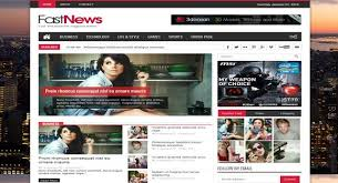 fast news responsive blogger template blogger tuts