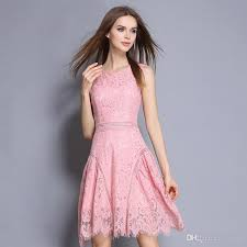 dress pink summer dresses for women 2017 trendy mini party dresses pink