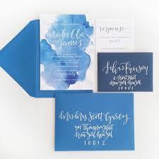 watercolor wedding invitations blue watercolor wedding invitation watercolor wedding
