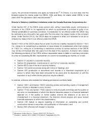 liability of directors in canada u2013 an excerpt