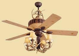 Deer Antler Ceiling Fan Light Kit Antler Ceiling Fan Cactus Creek