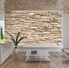 steinmauer wohnzimmer wunderbar fototapete steinmauer wohnzimmer im zusammenhang mit