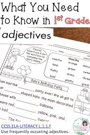 Identifying Adverbs And Adjectives Worksheets 170 Best Adjectives Adverbs Parts Of Speech Images On Pinterest