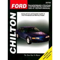 car repair manuals online free 1990 ford thunderbird parental controls ford thunderbird repair manual vehicle maintenance best repair