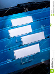Files For Filing Cabinet Blank Files In Filing Cabinet Stock Photography Image 10956312