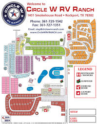 sitemap u2013 circle w rv ranch rockport texas rv park