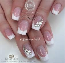 french manicure nail art nail tech name acrilic beauty classy one