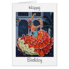 dancers happy birthday cards greeting u0026 photo cards zazzle