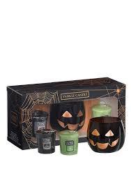 buy yankee candle halloween votive candle giftset black