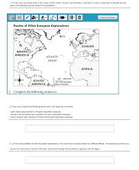 Henry Hudson Route Map by Oregon City Schools 6th 7th Grade Bilingual Social Studies