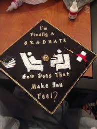 College Graduation Cap Decoration Ideas Best 25 Grad Cap Decoration Ideas On Pinterest Graduation Hats