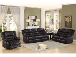 Double Reclining Sofa by Furniture Leather Reclining Chair Double Recliner Sofa
